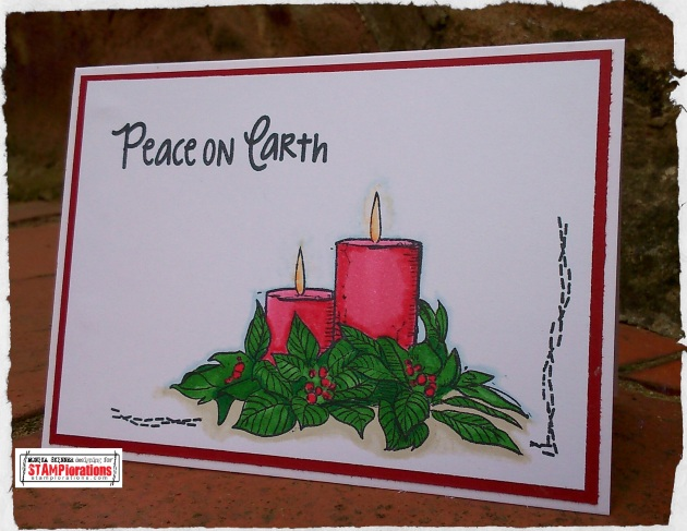 Christmas candles 1